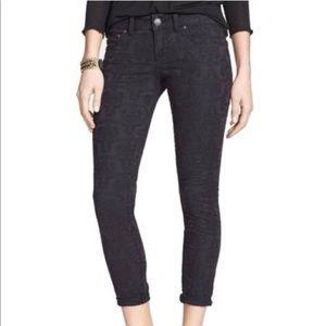 Free People Jacquard Jeans